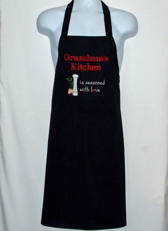 Grandma Kitchen A Seasoned With Love Custom Birthday Gift Personalized Wi Personalised Gifts Ideas