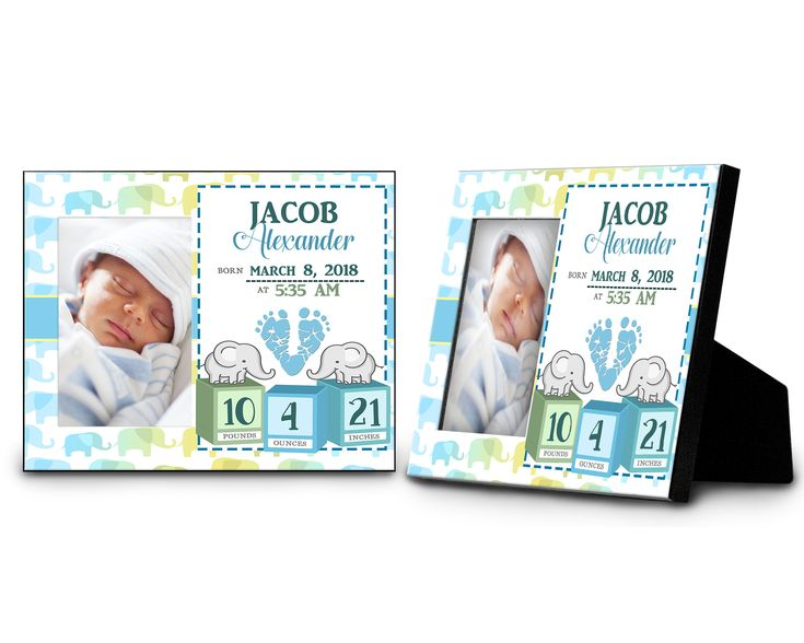 Personalised Gifts Ideas Newborn Baby Boy Personalized Photo