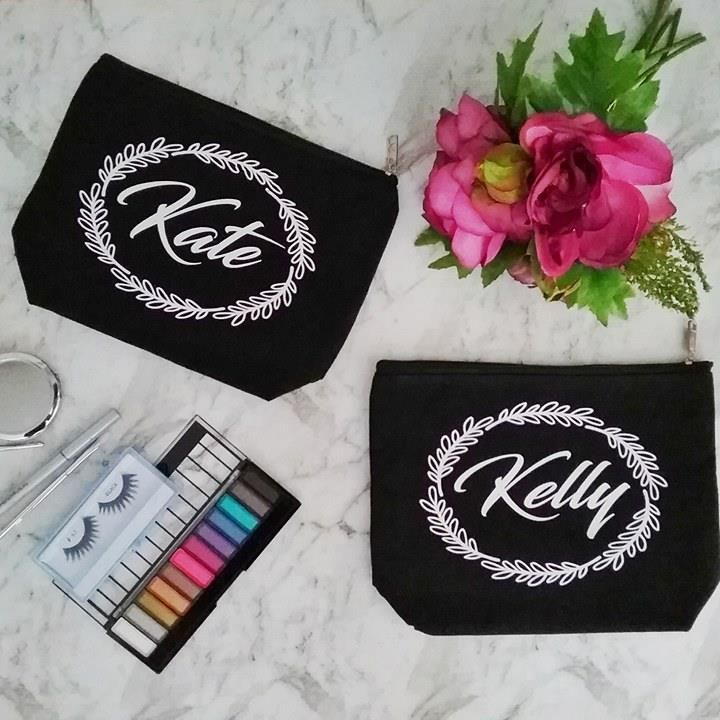 Pretty Personalised Makeup Bag Gifts For Your Loving Girl Birthday Gift