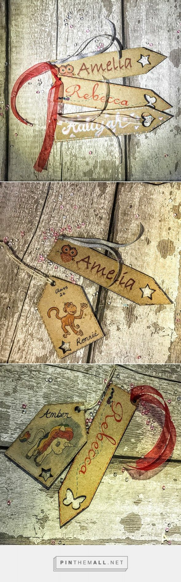 Personalised back to school bookmarks Personalised wooden bookmarks Personalised...