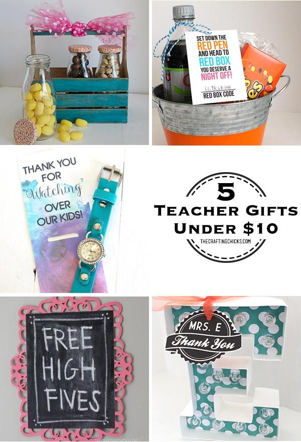 Diy Gifts 5 Teacher Under 10 My List Leading Gift Ideas For Employees Employee Appreciation