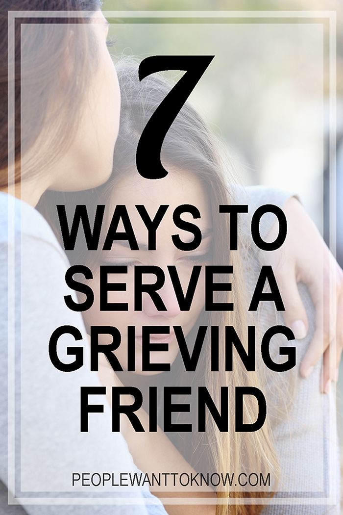 DIY Gifts : 7 ways to serve a grieving