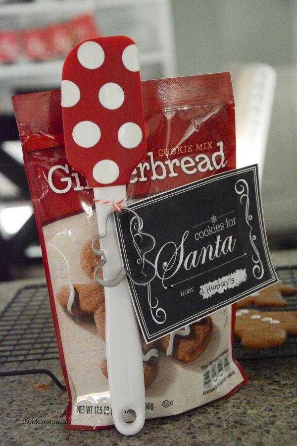 DIY Gifts : Cookies for Santa Easy Neighbor Gift Idea!! - The Idea ...