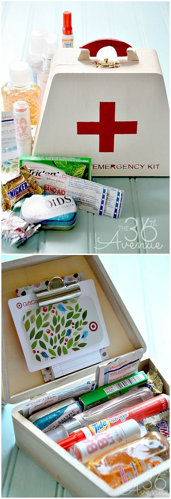 Diy gifts emergency kit gift idea perfect for teachers friends diy gifts emergency kit gift idea solutioingenieria Images