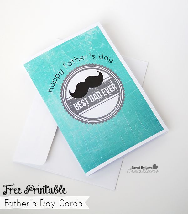 fathers day printables cards - 600×682