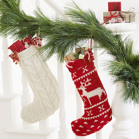 Santa will love tucking toys into a soft and sweet sweater stocking. Get the fre...