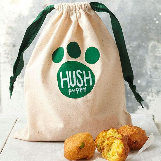 Surprise any dog-lover with a bag of tasty hush puppies, hush puppy mix, or pupp...