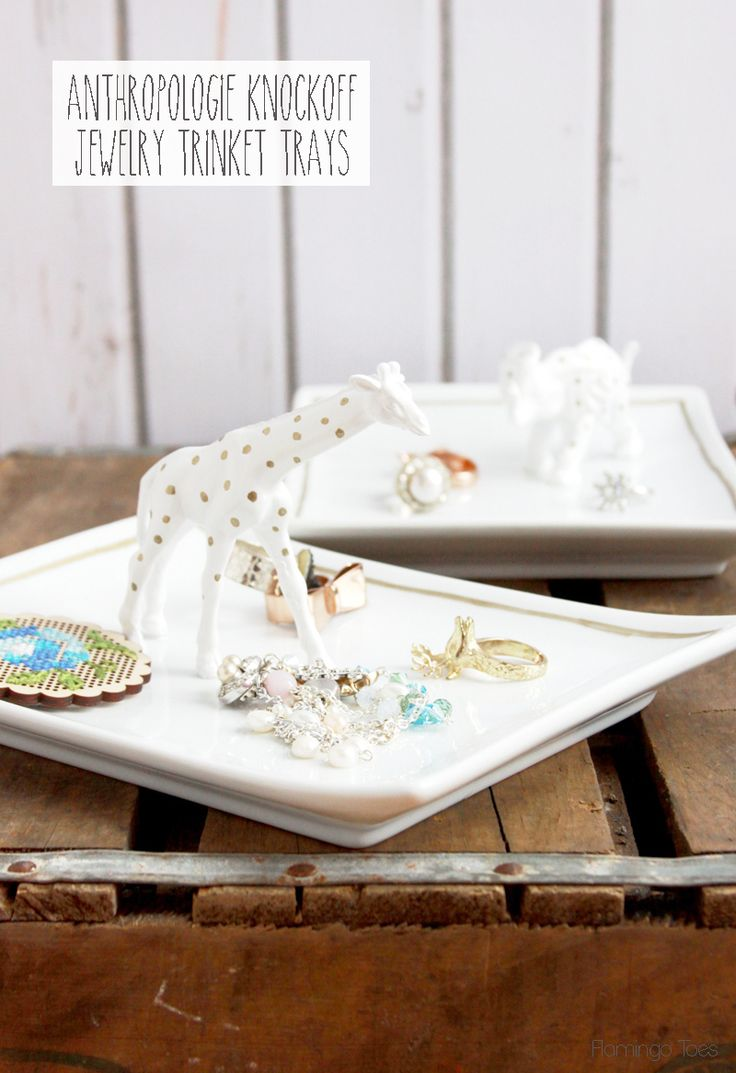 Diy Gifts Make These Cute Anthropologie Knockoff Trinket Dishes