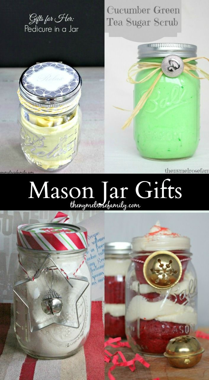 diy gifts mason jar gits are the perfect neighbor teacher or co