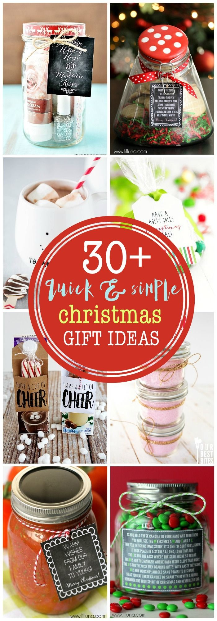 DIY Gifts : Need some last minute gift ideas that are cute and ...