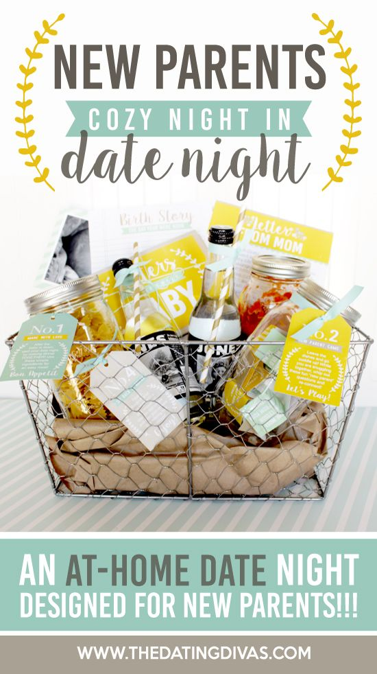 Diy Gifts New Parents Cozy Date Night Kit This Would Make A Darling Baby Shower Gift Th My Gifts List Leading Gifts Inspiration Magazine Gift Ideas For Everyone Find