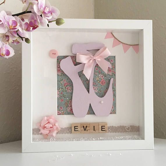 Personalised Gifts Ideas Ballerina Picture Frame