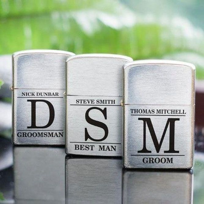 Smoking Accessories - Groomsmen Lighter #lighter #personalizedgift Unique ideas ...