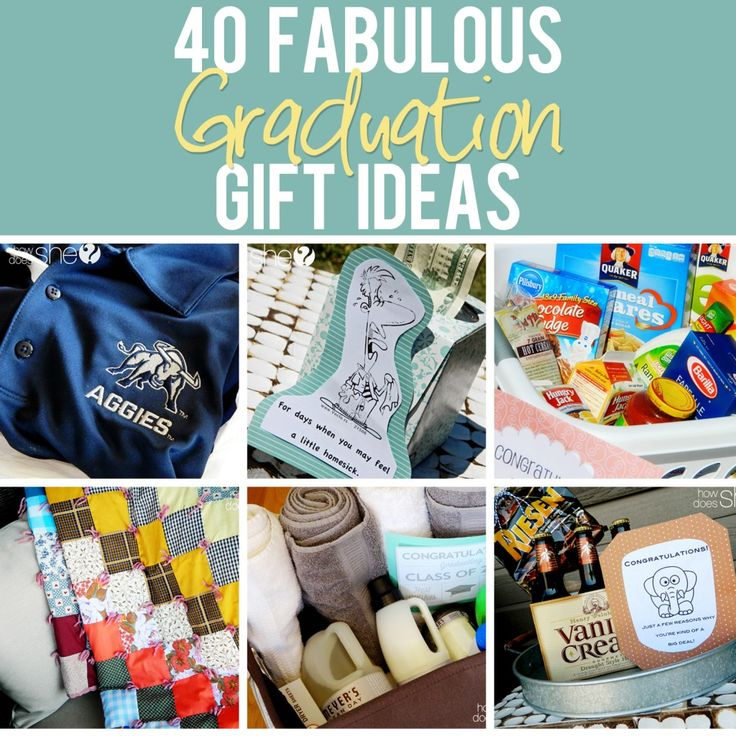 Diy Gifts 40 Fabulous Graduation Gift