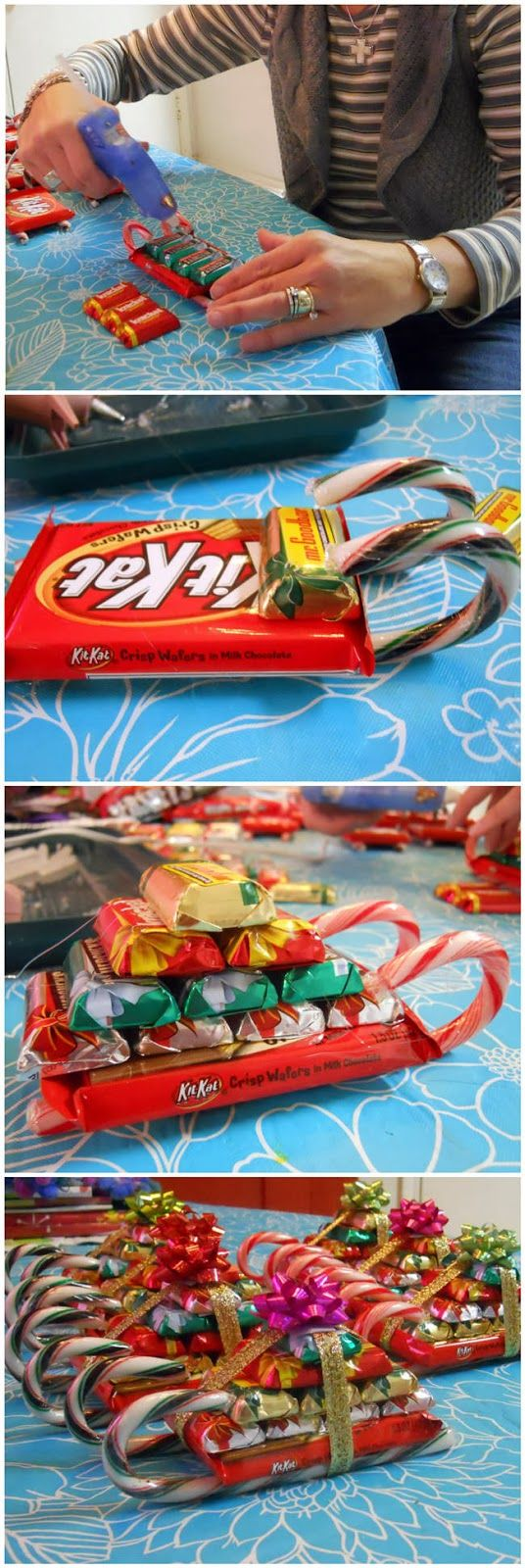 DIY Gifts Candy Sleighs