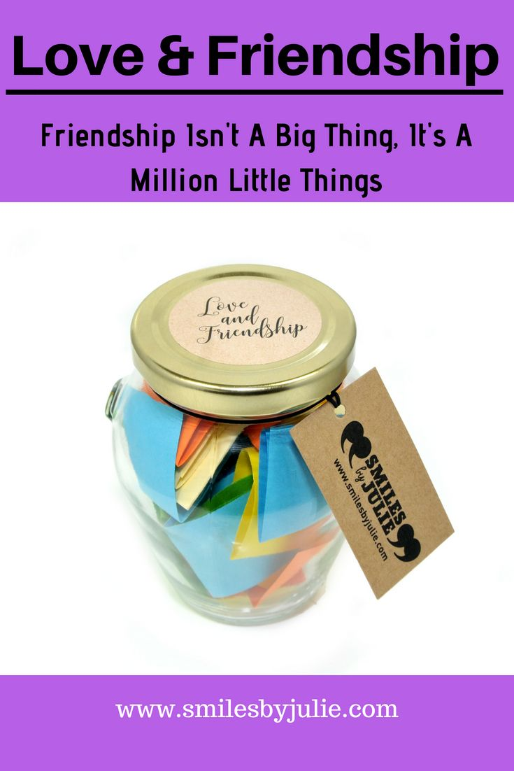 Love & Friendship in a Jar. A Month of Thoughtful & Happy Quotations in a NEW ST...