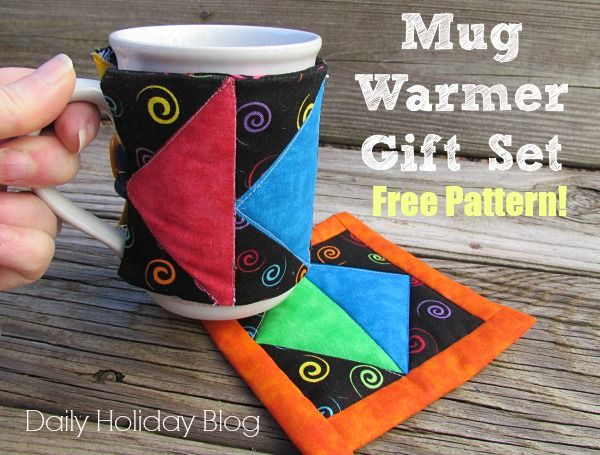 Mug warmer gift set free pattern!