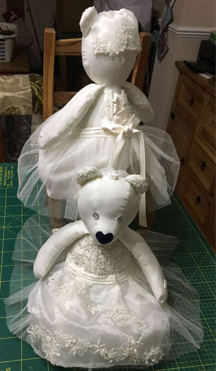 Bridal Memory Bears are a perfect way to remember your special day. Is your wedd...