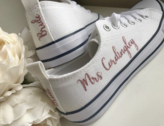 fe6302358071 Personalised Gifts Ideas   Wedding trainers