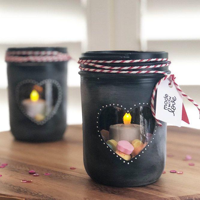 Birthday Gifts Candle Holder Mason Jar Gift Candleholder