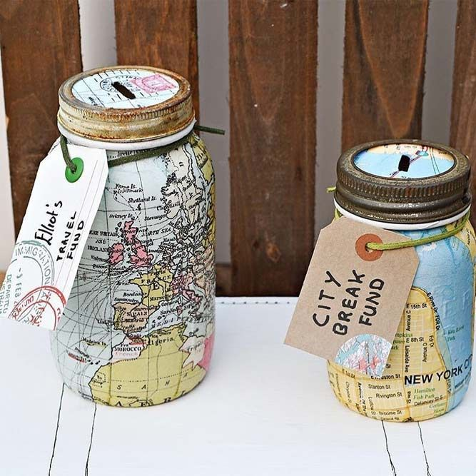 Birthday Gifts Map Money Boxes Gifts Moneybox