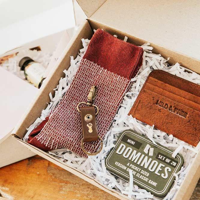 A Creative Gift Box Idea For Men Giftforhim Giftidea Choose Boxes Ide