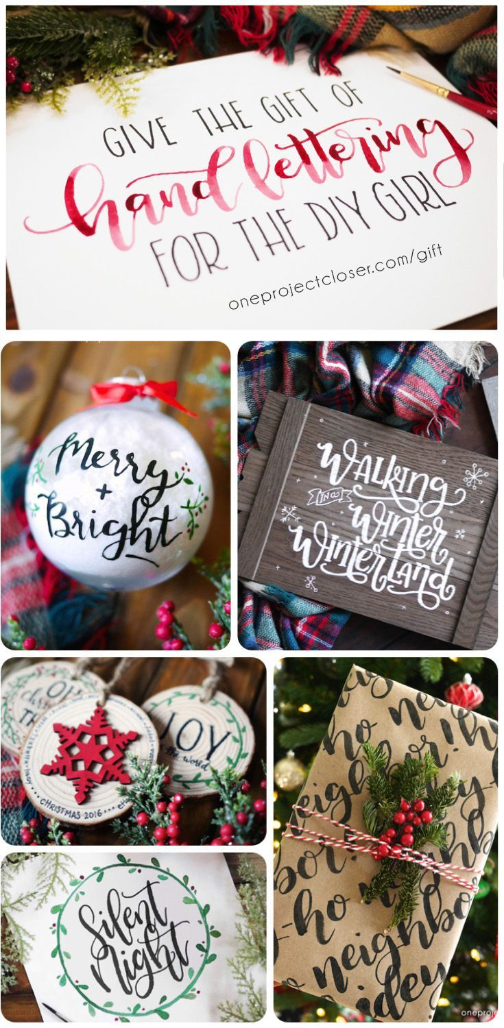 Absolutely LOVE this Online Hand Lettering Course for the DIY Girl - One Project...