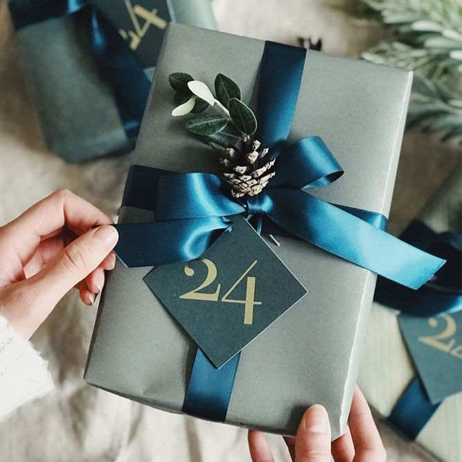 Birthday Gifts Wrap Idea For Him With Bow And Cone Giftforhim Creative Ideas Simple