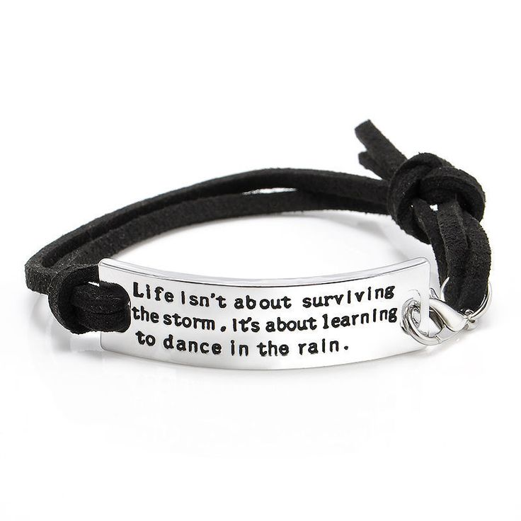 Birthday Gifts For Girls Learning To Dance In The Rain Bracelet