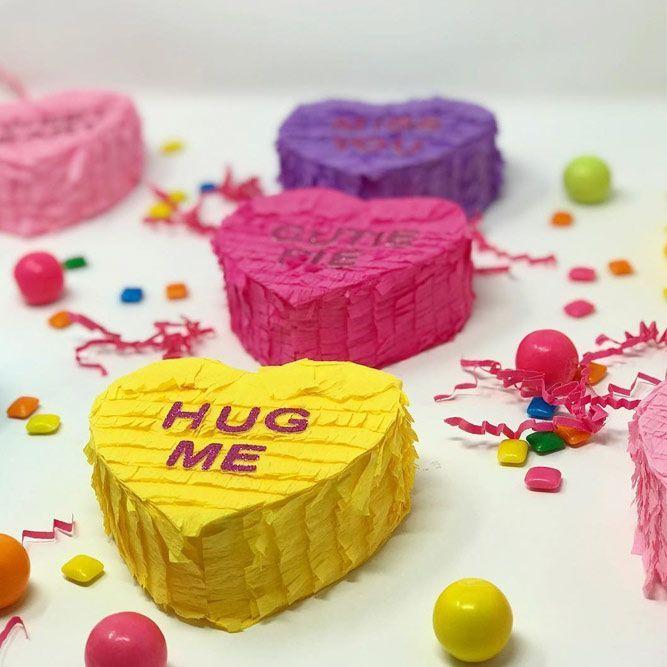 Heart Pinata Gift Idea Cheapgift First Date Frame Firstdate Hea