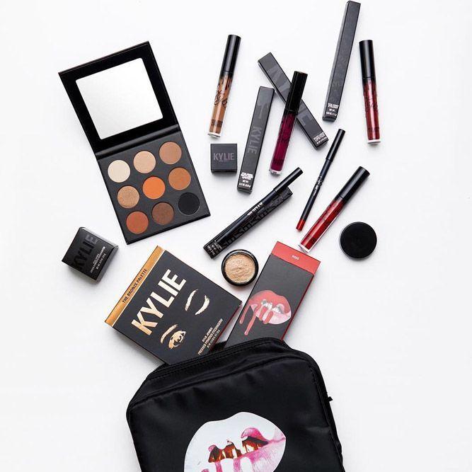 Birthday Gifts Makeup Essentials With Bag Makeupbag Lipstick Eyeshadow First