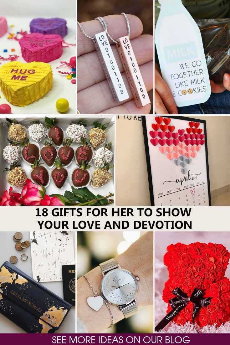 Special Romantic And Unique Gifts For Her To State Your Feelings See More