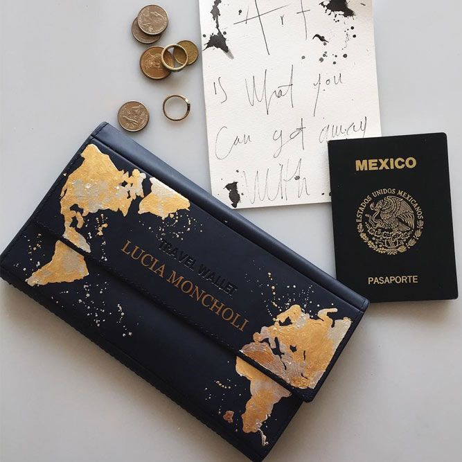 Birthday Gifts Travel Wallet Gift Idea