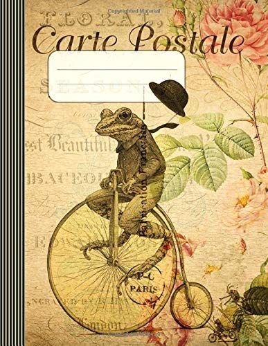 Carte Postale: Composition Notebook Journal (Large) - Wid... www.amazon.com/...
