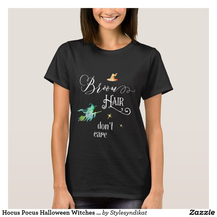 Hocus Pocus Halloween Witches Funny Humor Outfit T-Shirt