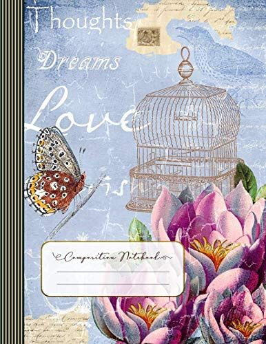 Thoughts Dreams Love Composition Notebook: Journal (Large... www.amazon.com/...