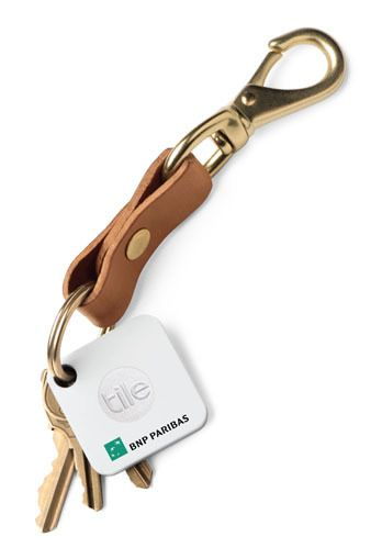 Add your logo to Tile's key finder for trade shows, corporate gifts and even...