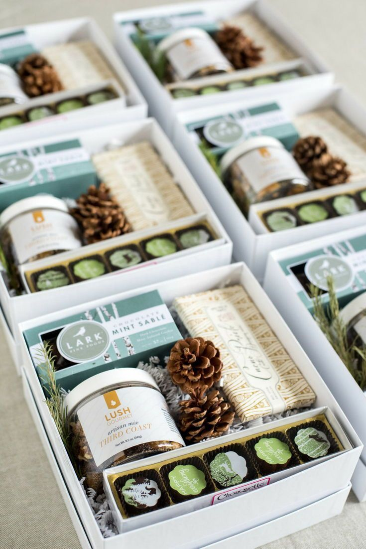 Best Corporate Gifts Ideas HOLIDAY CLIENT GIFTS// Custom blue and green client h...