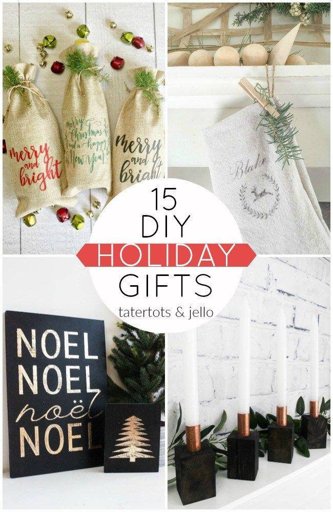 15 DIY Holiday Gifts!