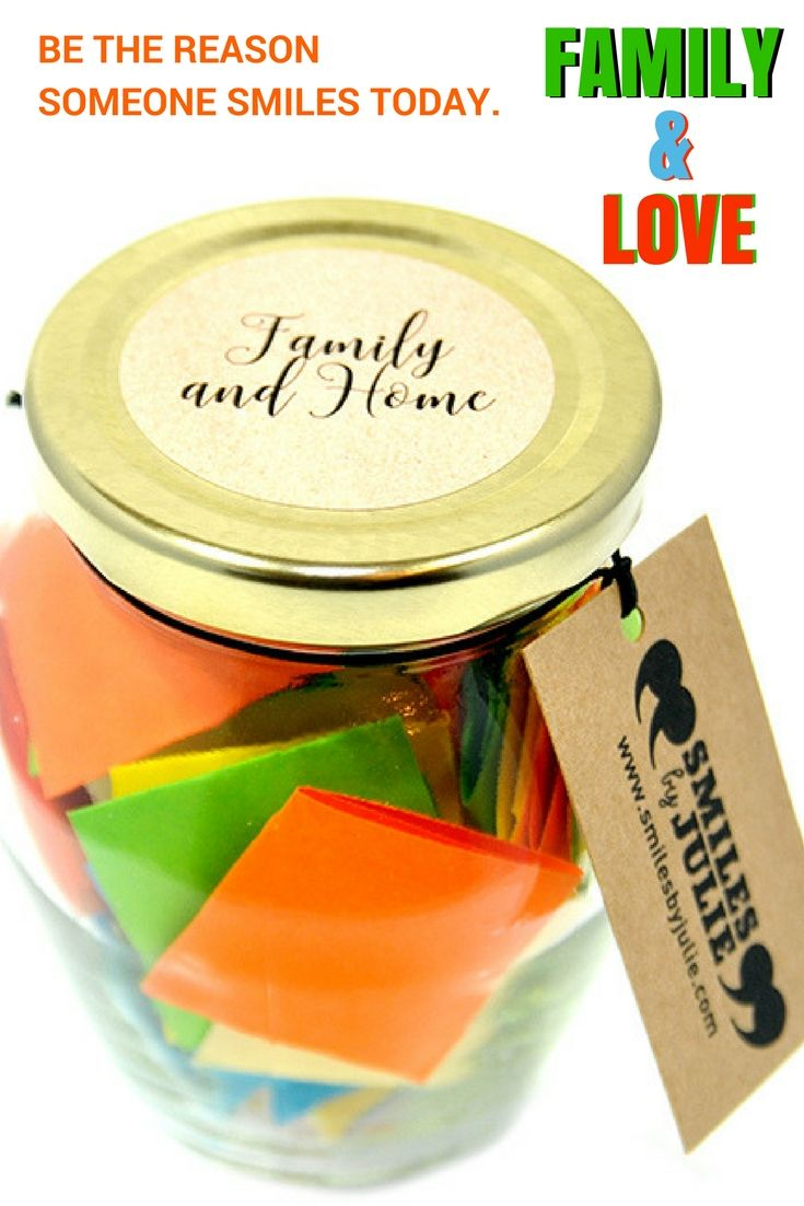 A Month of Funny, Loving, Warm and Thoughtful Quotes in a Jar.  The Perfect Gift...
