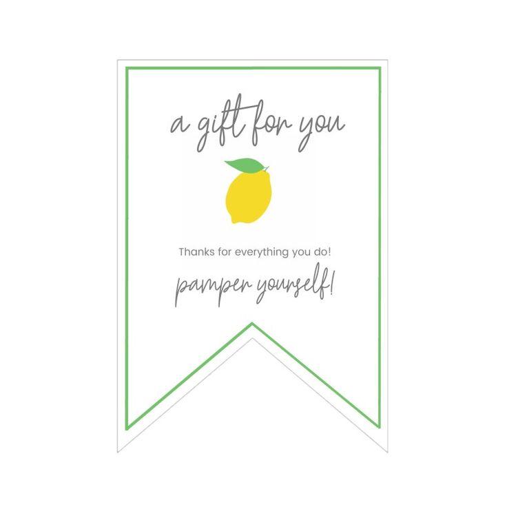 Mother's Day Gift Basket Ideas, Printable Gift Tags + DIY Limoncello Sugar Scrub Recipe!
