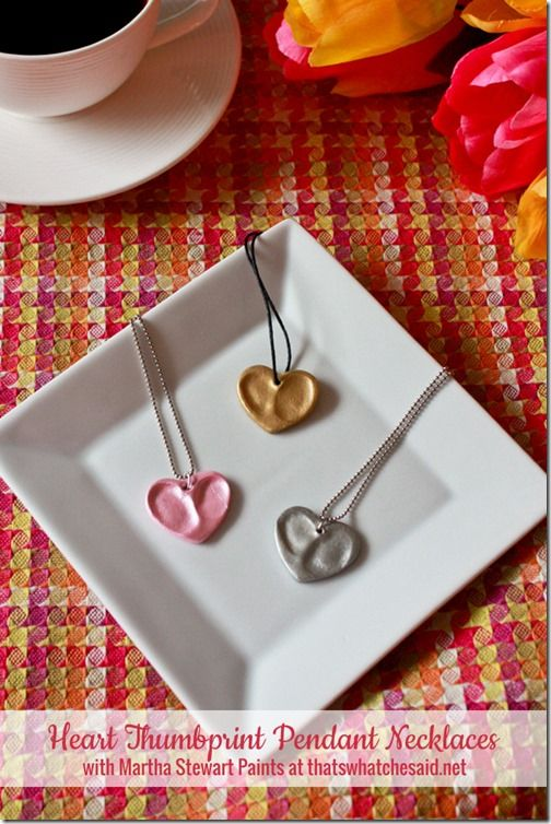 Heart Thumbprint Pendants at thatswhatchesaid.net  Perfect for the special peopl...