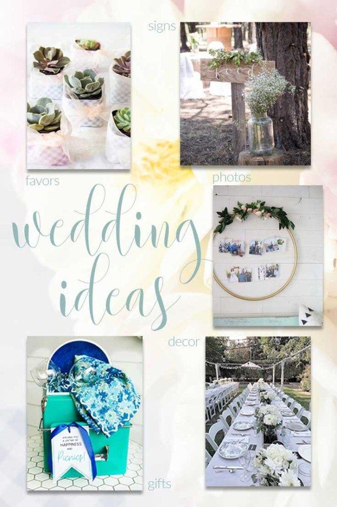 5 DIY Wedding Ideas - gifts, decor, photos and more!
