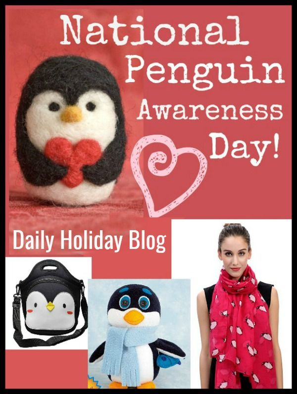 Celebrate National Penguin Awareness Day- 7 sweet gifts!