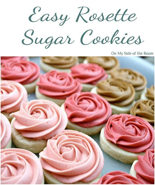 Easy to make Rosette sugar cookies using the best sugar cookie recipe in the wor...