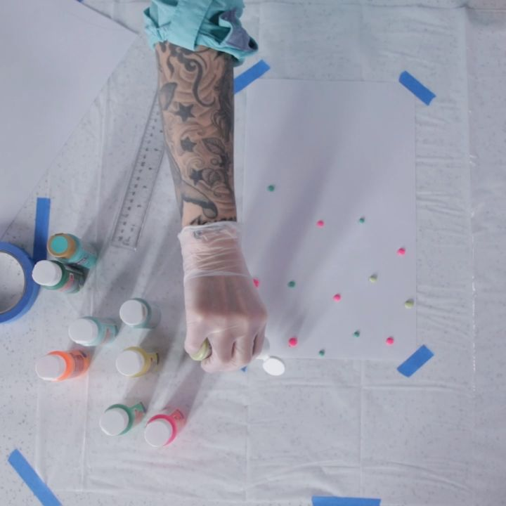 How To Make Scrape Paint Paper