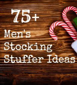75+ Stocking Stuffer Ideas for Men :: Christmas Stocking Stuffer Ideas
