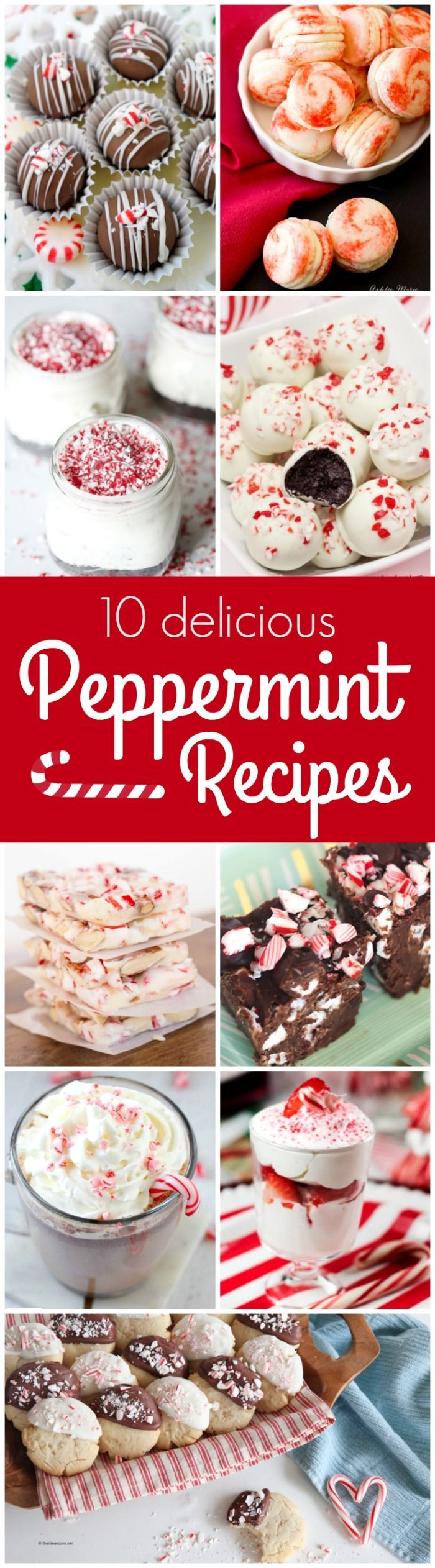 10 Peppermint Dessert Recipes!