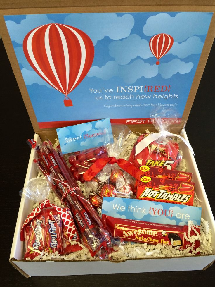 Corporate congratulations box | A corporate gift to clients, partners, and prosp...