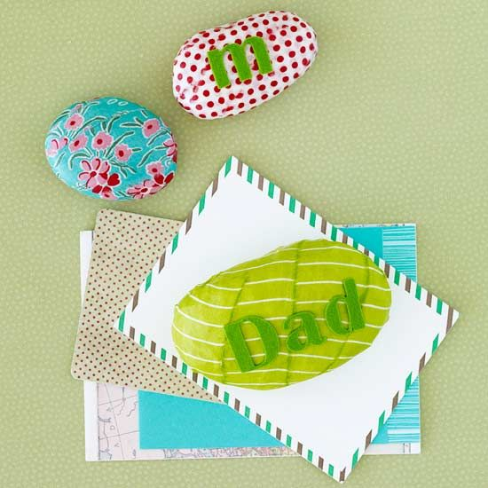 How fun are these personalized paperweights?
